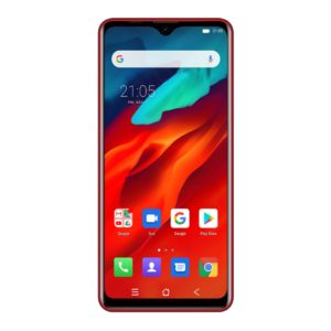 BLACKVIEW A80 PRO ROJO PARTE FRONTAL PANTALLA