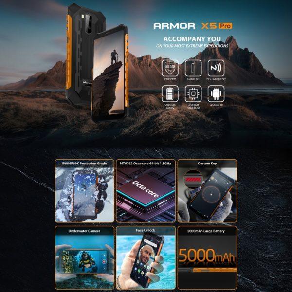 ULEFONE ARMOR X5 PRO - 1