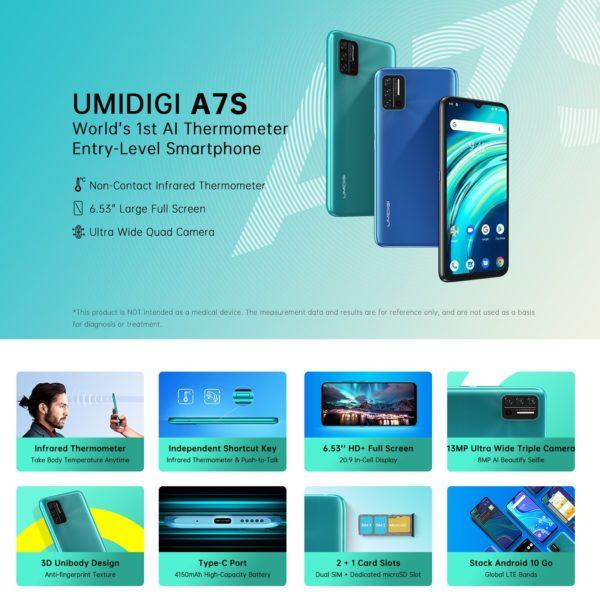 UMIDIGI A7S - 1