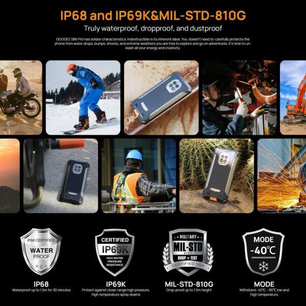 DOOGEE S86 PRO 128GB + 8GB - 10
