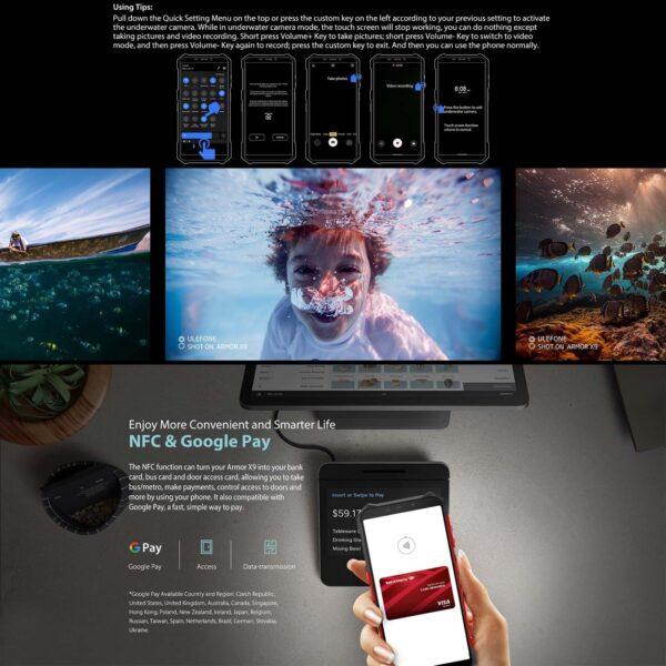 ULEFONE ARMOR X9 32GB + 3GB - 8